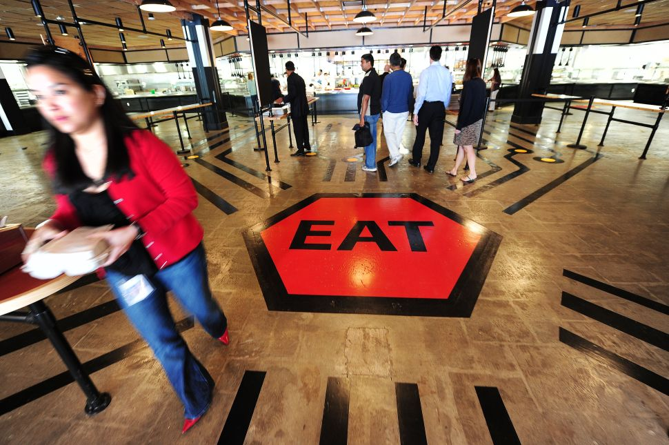 No More Free Lunch! San Francisco Looks to Ban Tech Companies' Employee Cafes