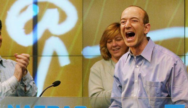 Amazon reported a record second-quarter profit of $2.5 billion.