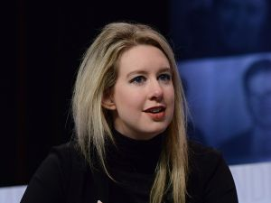 Theranos' market valuation reached $9 billion at its peak.