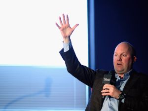 Venture capitalist and co-founder of Andreessen Horowitz, Marc Andreessen