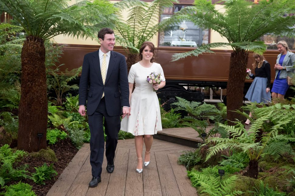 The Duke of York Is Hosting Princess Eugenie's Wedding Party at His Windsor Estate