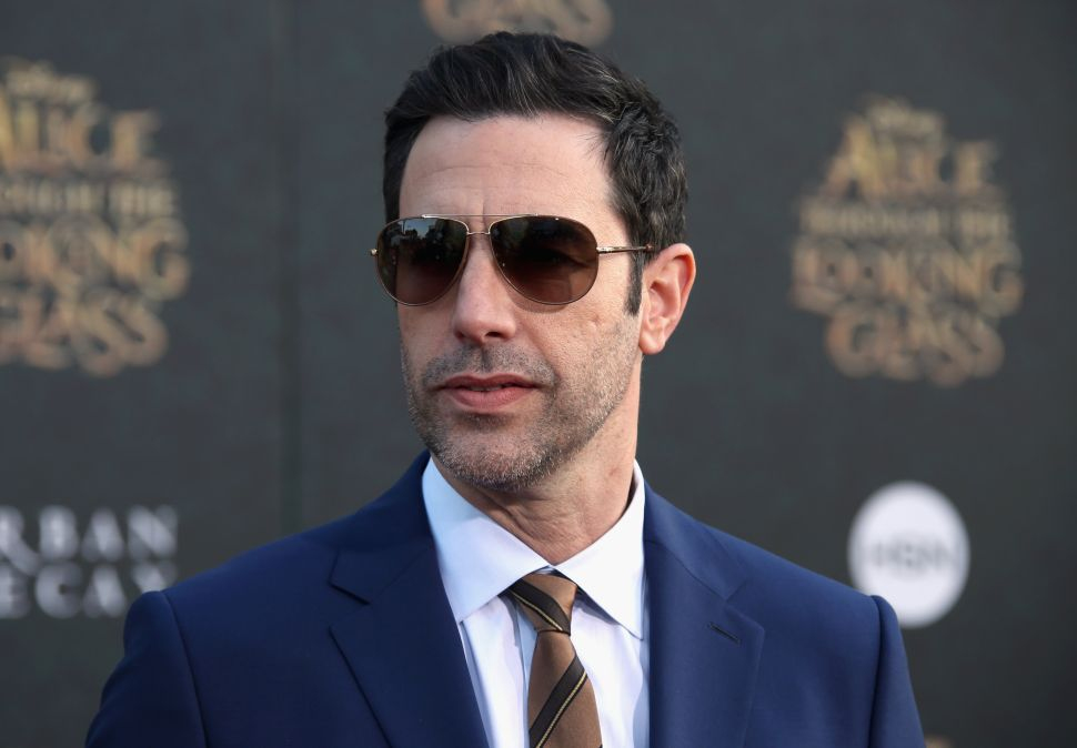 Sacha Baron Cohen Takes Aim at Trump in July Fourth Video