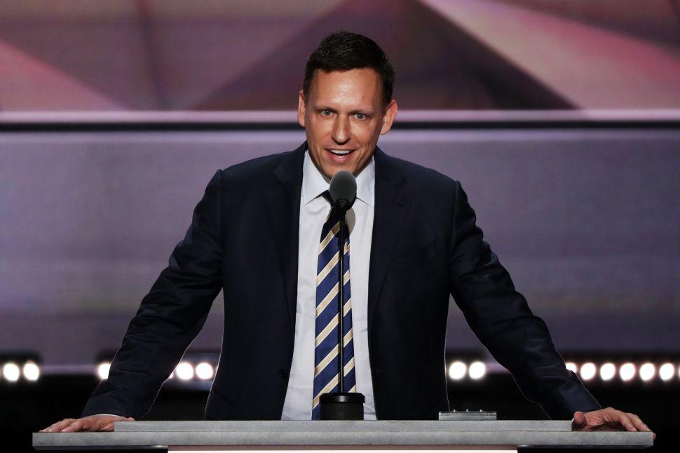 Peter Thiel Compares America to North Korea Due to Political Correctness