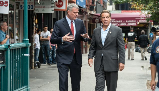 Bill de Blasio and Andrew Cuomo said yesterday they wanted to save the Daily News, but neither of them has been a great friend to the media.