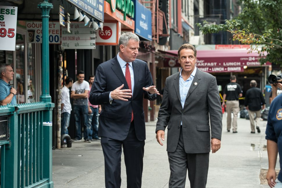 De Blasio and Cuomo's Daily News Tributes Don't Gel With Past Rhetoric