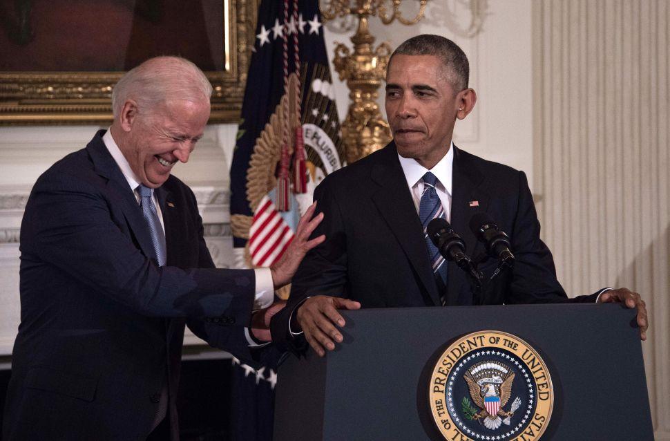 Obama-Biden Murder Mystery Makes Amazon Top 10 During Presidential Beach Read Season