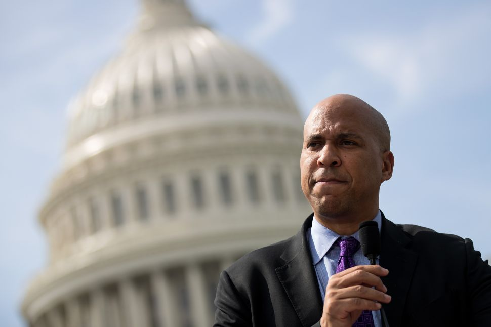 Cory Booker Ranked as 1 of the Top 5 Likely Democratic Presidential Candidates