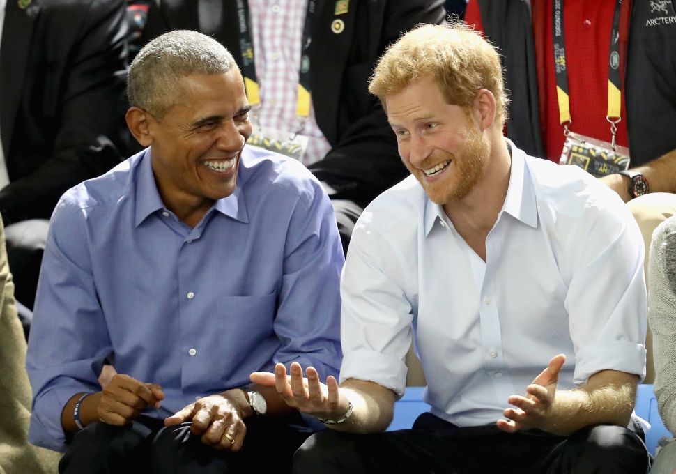 Prince Harry and Barack Obama Can Finally Rekindle Their Bromance