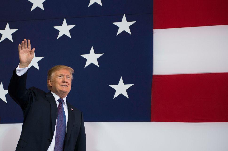 Trump Orders Flags at Half-Staff for Slain Journalists, But Still Blasts 'Fake News'