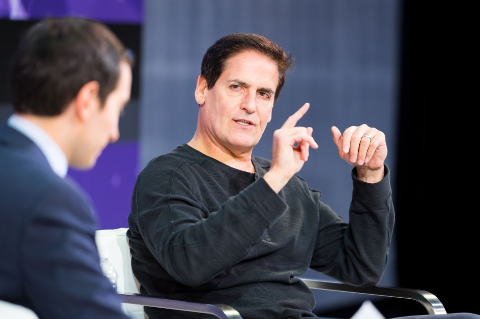 Mark Cuban 'Scares the Shit' Out of Teens by Warning of a World Ruled By Terminators