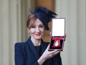 J.K. Rowling may add another medal to her mantle if she wins the New Academy Prize.