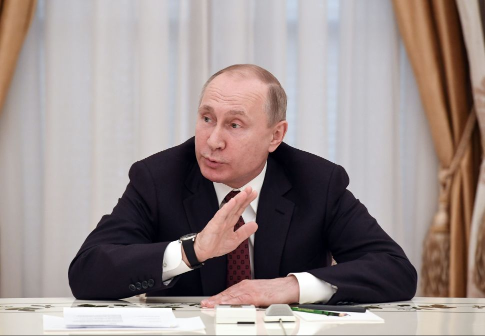 This Is How Vladimir Putin Manufactures Conflict Between Nations