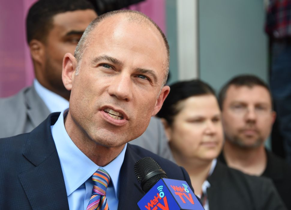 Michael Avenatti to Join White House Protests Launched by Former Clinton Aide