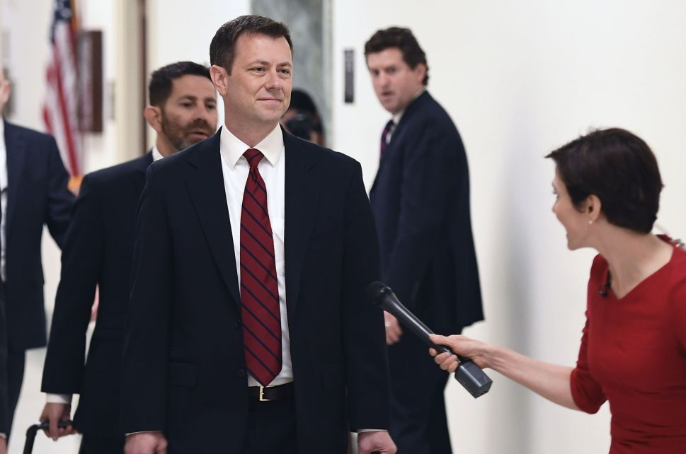 FBI Agent Peter Strzok Calls His Hearing 'Another Victory Notch in Putin's Belt'