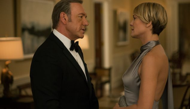 Netflix House of Cards Robin Wright Talks Kevin Spacey