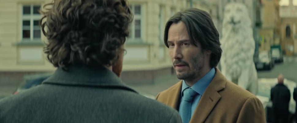 Keanu Reeves Has Stopped Shaving, Still Can't Act