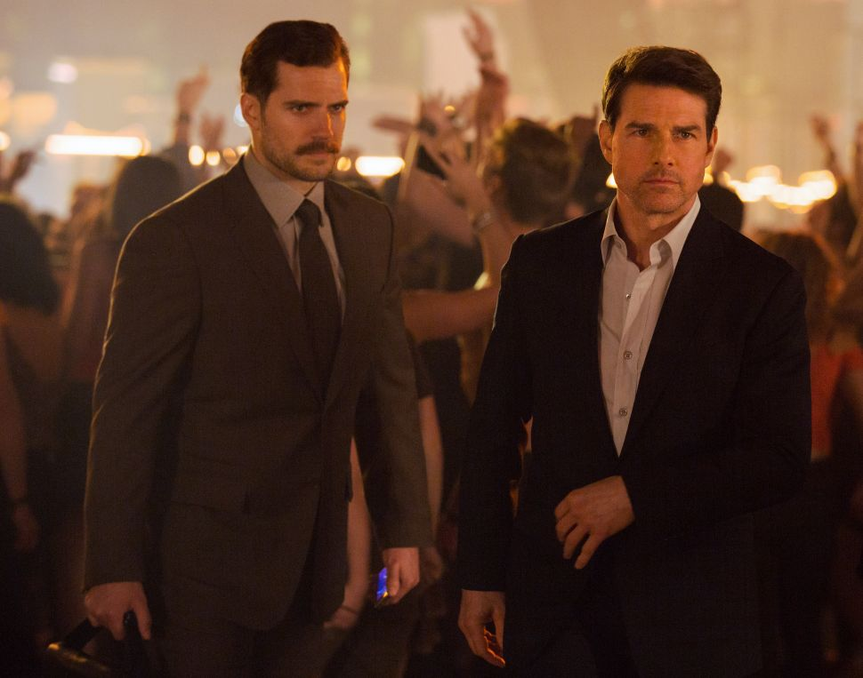 Tom Cruise and a Man Even Hotter Than Tom Cruise Do Dangerous, Forgettable Things