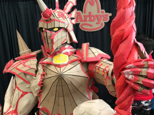 Arby's recently unveiled Nightmare sculpture.