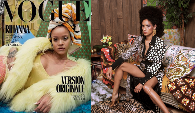 Vogue's Photos of Rihanna That Rip Off Mickalene Thomas Go Beyond Plagiarism