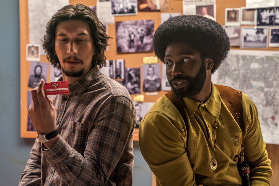 Some of the Best 'BlacKkKlansman' Scenes Serve No Plot Purpose—And Save the Film