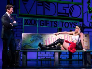 Samantha Barks and Andy Karl in Pretty Woman: The Musical.