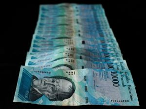 Venezuela's new banknote slashes five zeros off the country's current bill, bolivar.