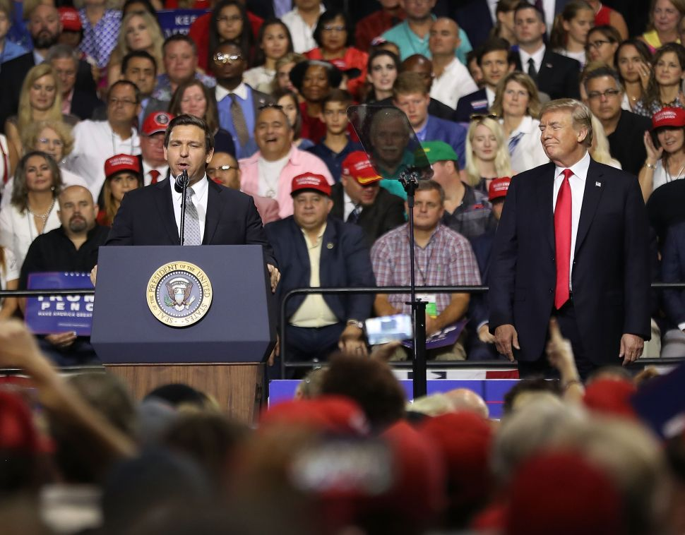 Ron DeSantis' Brand of Trumpism Becomes Toxic After 'Monkey This Up' Remark