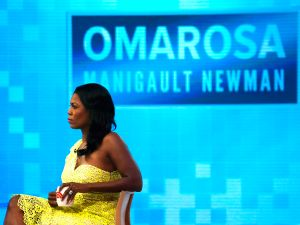 "Omarosa Manigualt-Newman waits to promote her new book on The ""Today Show"" on August 13, 2018."