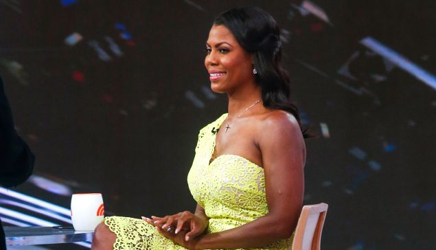 Omarosa Manigault-Newman dominated cable news coverage this month.