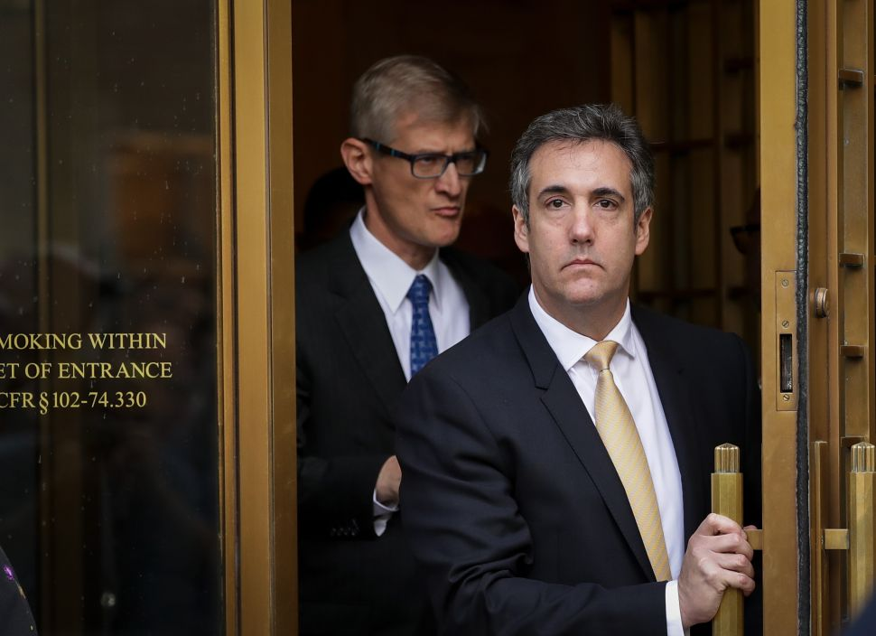 Michael Cohen Admits Stormy Daniels Hush Payment Was for 'Influencing the Election'