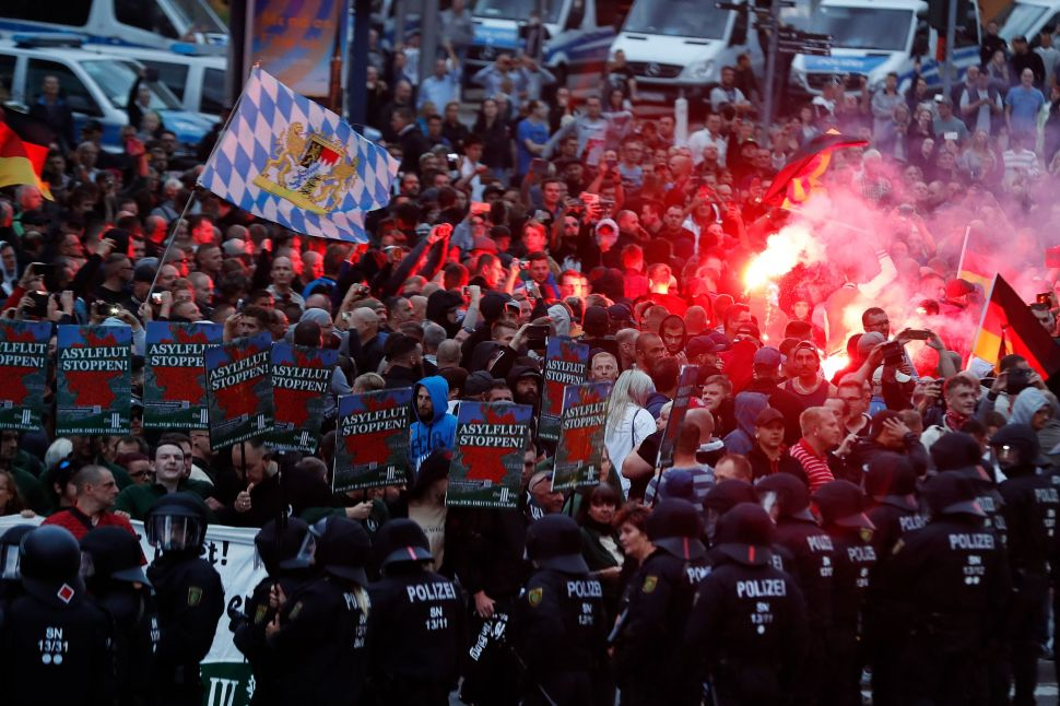 The Hidden Russian Hand Behind Germany's Violent Right-Wing Riots