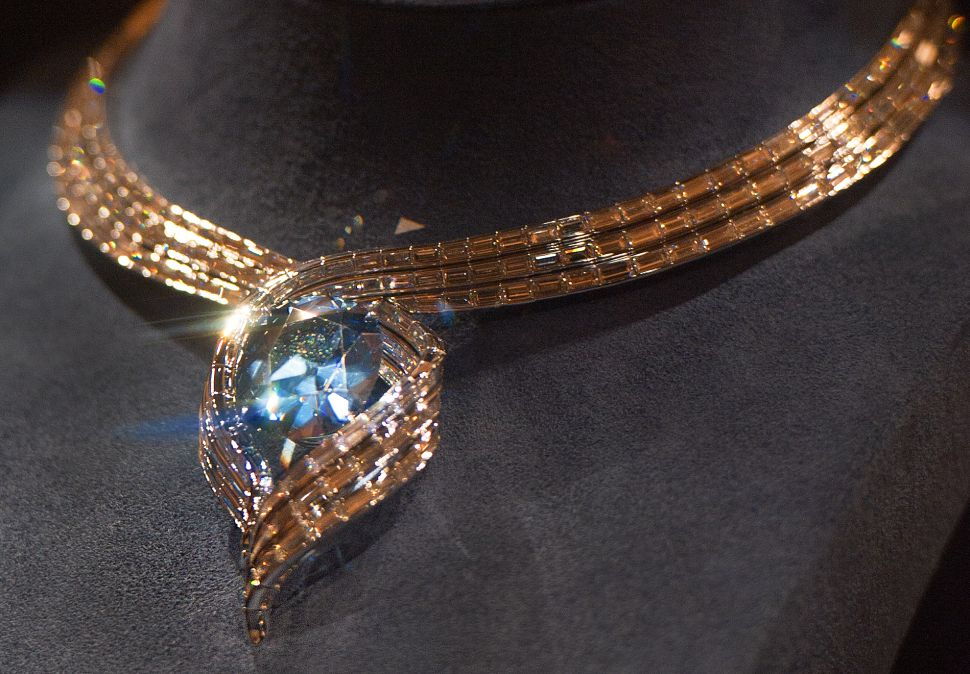 Blue Diamonds Are Proof the Earth Recycles