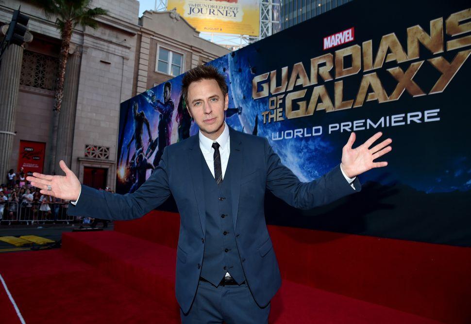 The Incredible Irony of James Gunn's 'Guardians' Firing