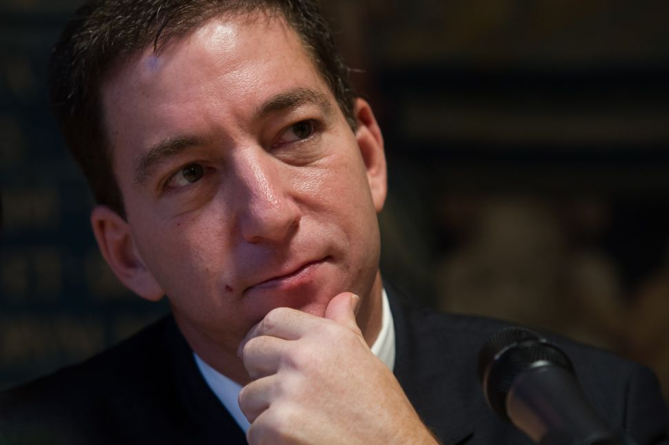 Glenn Greenwald Says MSNBC Banned Him After He Criticized Rachel Maddow