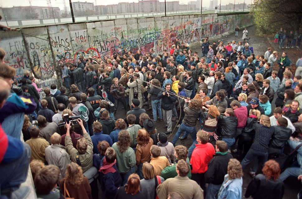 Building a Replica of the Berlin Wall: A Relevant Experiment or Just Too Soon?