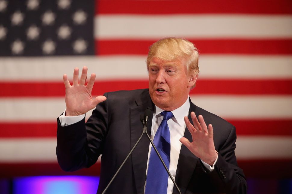 Trump Dings Google and Facebook But Spends Big on Digital Ads