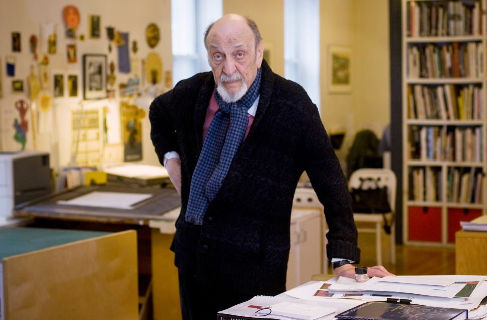 Milton Glaser on Making New Work at 89 and Why 'Retirement Is a Trap'