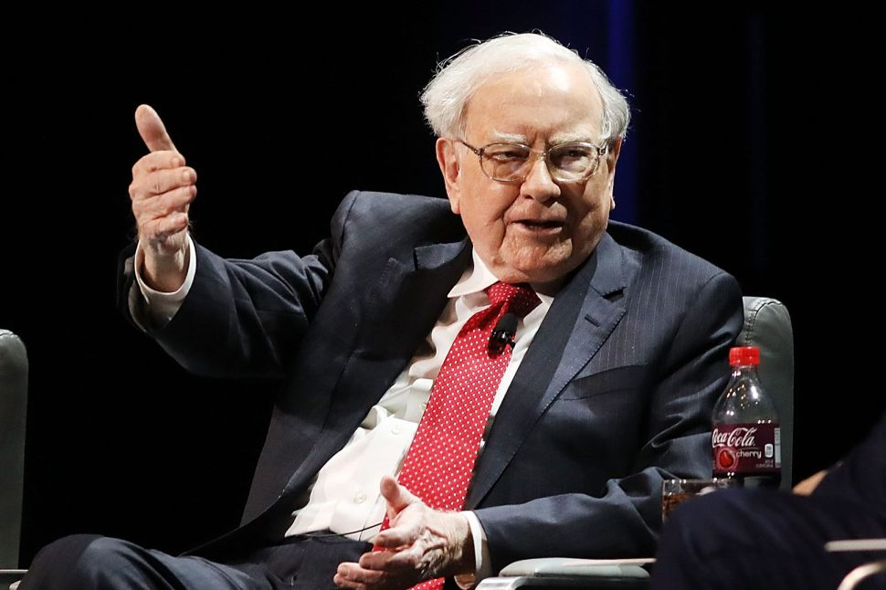 Happy Birthday Warren Buffett, Whose Net Worth Is Quickly Catching Up With His Age