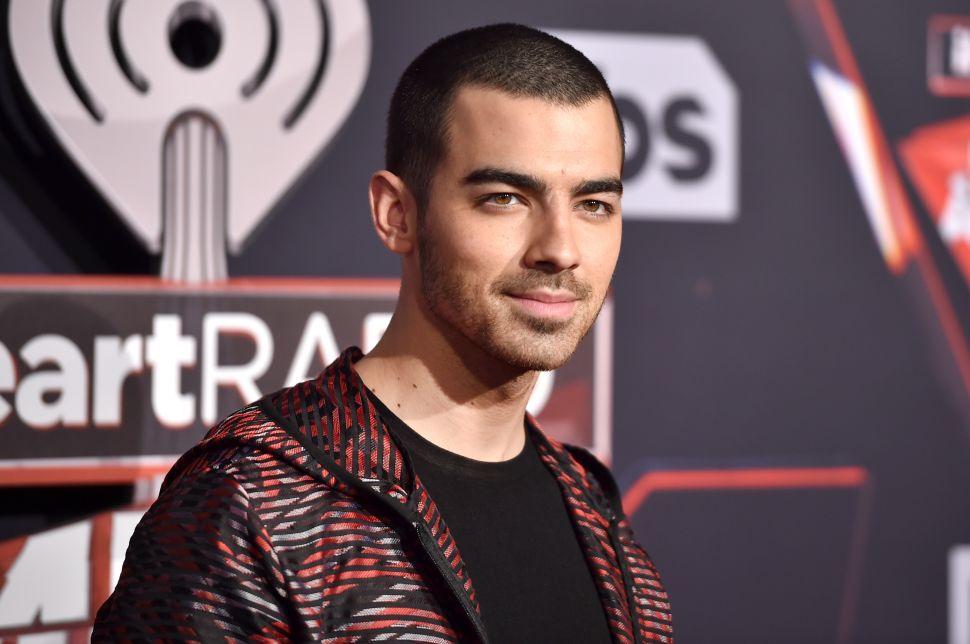 Joe Jonas Doesn't Want Cake by His Sherman Oaks House