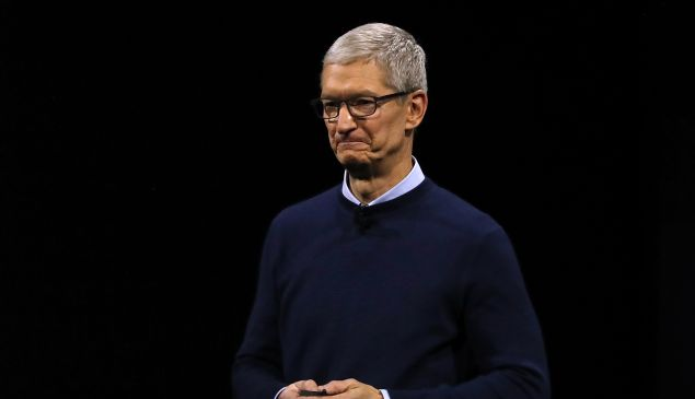 Apple CEO Tim Cook compensation