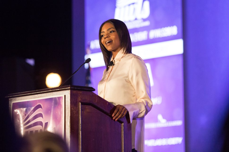 Turning Point Hawkeyes Call Candace Owens' Immigration Speech a 'Political Agenda'