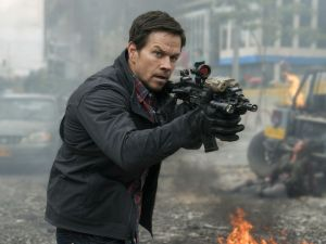 Mark Wahlberg in Mile 22.
