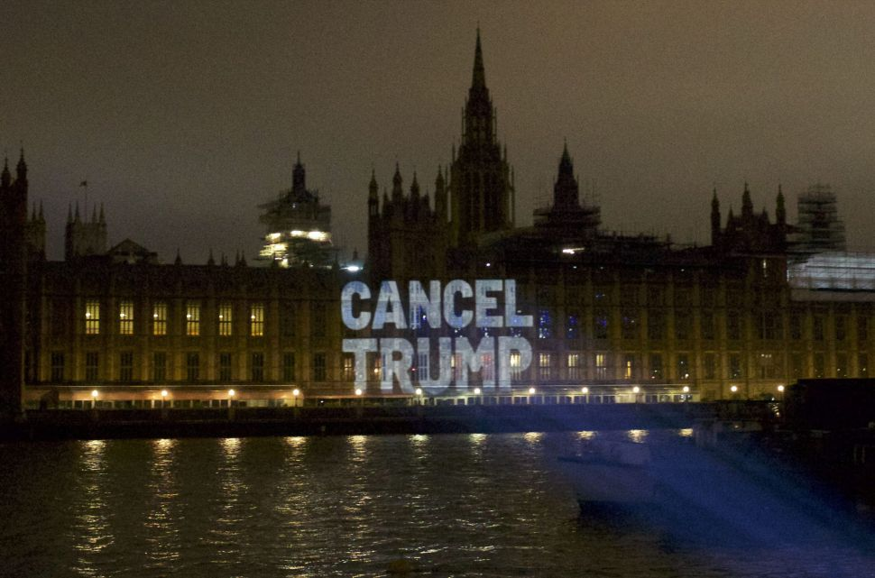 Projecting Political Messages on Buildings Is This Group's Genius Form of Activism