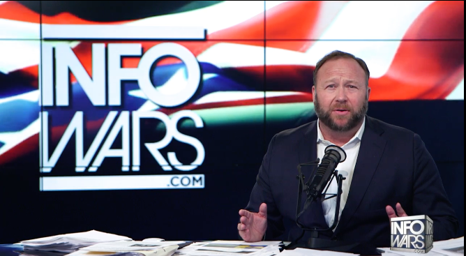 Alex Jones Explains Trans Porn on Phone: Porn Always Flooding His Phone