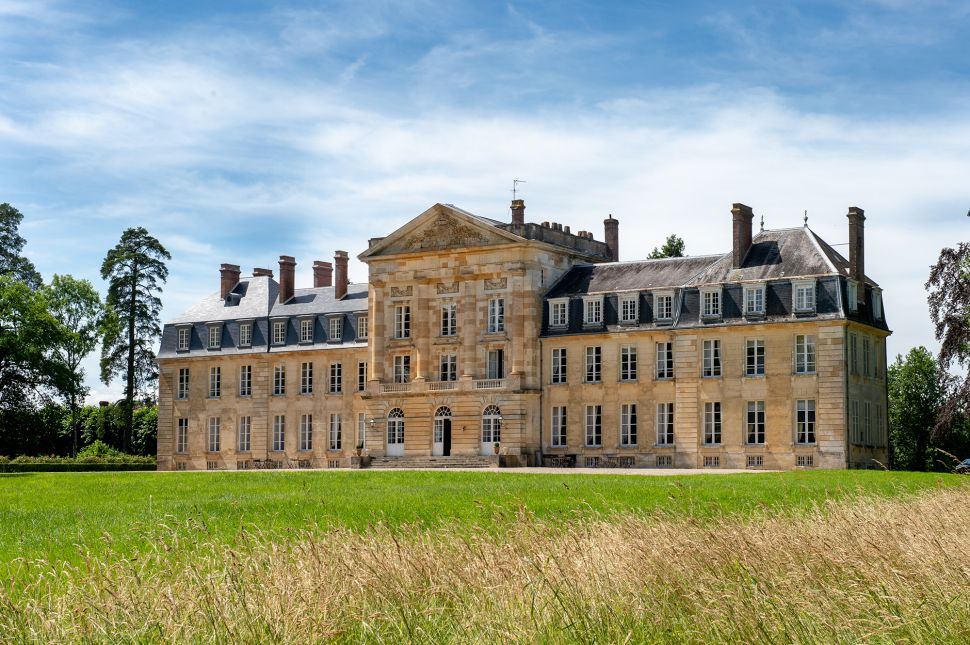 Live Like a French Princess Who Loves Hot Air Balloons at Chateau de Courtomer