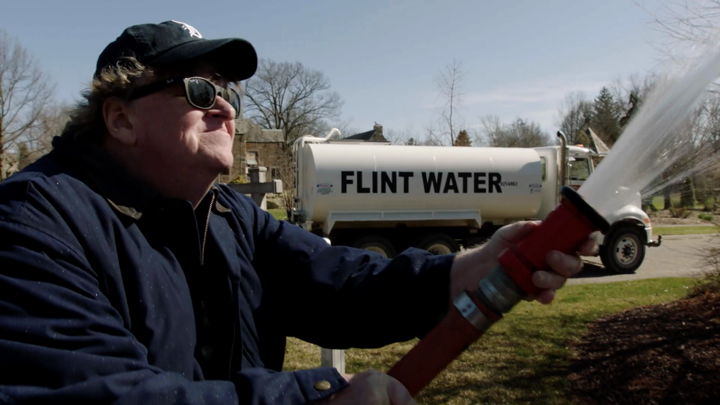 Michael Moore Plays the Hitler Card, Takes Aim at Trump, Sanders in 'Fahrenheit 11/9'