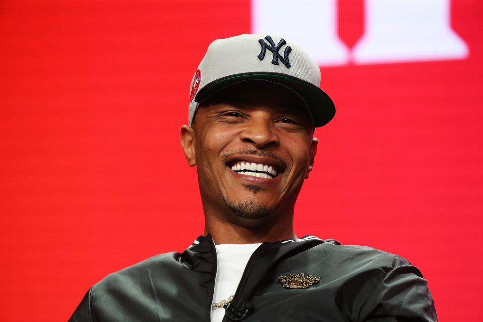 T.I. Endorses Cynthia Nixon for Governor (Despite Not Knowing Who She Is)