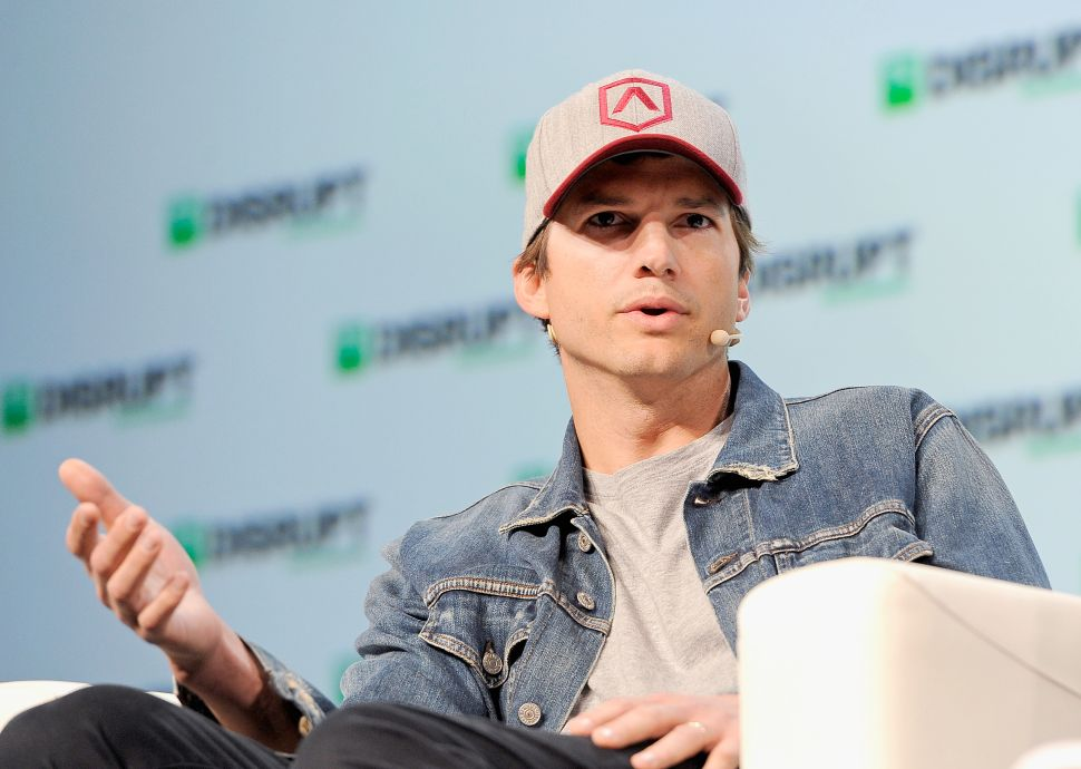 Ashton Kutcher Defends Bird Scooters: Cars Are F***ing Parked Everywhere!