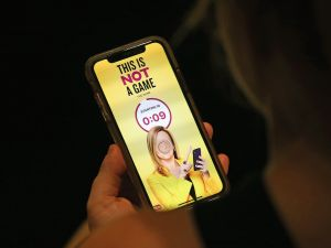 Samantha Bee's new app This Is Not a Game: The Game.
