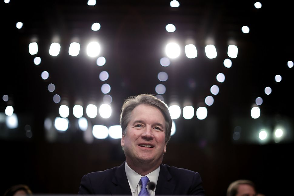 Here's a Video of Brett Kavanaugh Joking About 'What Happens at Georgetown Prep'